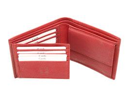 Portemonnaie - Nr.2013 - Weinrot genarbt