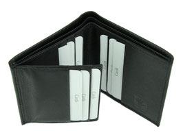 Kreditkartenetui aus Leder mit 9 Kreditkartenfächer - Nr.5208