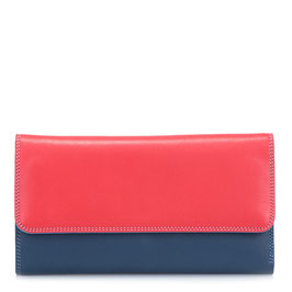 269-127 Trifold with Outer Zip Purse - Royal
