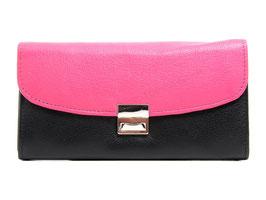Serviceportemonnaie Nr.1014 - Schwarz / Pink