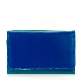 363-92 Medium Tri-fold Wallet w/Outer Zip Purse - Seascape