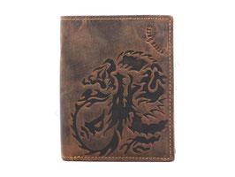 Greenburry Vintage Geldbörse Drachen D-1796A