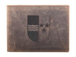 Portemonnaie mit Aargauer Wappen Prägung
