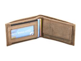 Mini Portemonnaie Nr.1000 - Antikbraun