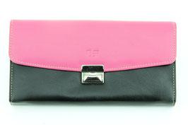 Serviceportemonnaie Pink-Schwarz