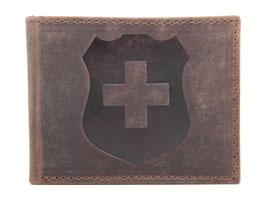 Portemonnaie mit Schweizerkreuz Prägung