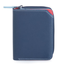 226-127 Small Wallet with Zipround Purse - Royal