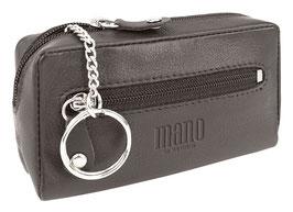 """Mano """"Satura"""" - Schlüsseletui mit einem Schlüsselring - Dunkelbraun"""