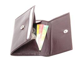 Mini Portemonnaie Nr.1701 - Bordo