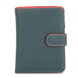 229-122 Large Snap Wallet - Urban Sky