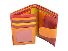 Portemonnaie Damen Nr. 3405 - Multicolor Rot