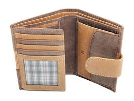 Portemonnaie Nr. 3405 - Multicolor Braun