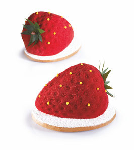 TuttiFrutti Pavoni Mould PX4333s - Strawberry