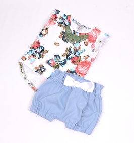 Set  High Waist Bloomer&Shirt Roses *sofort Lieferbar*