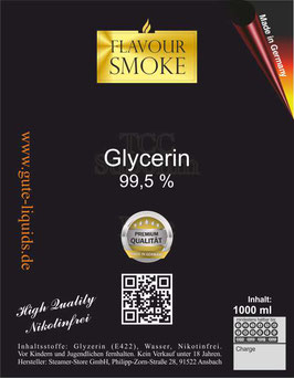 Glycerin Basis 1000 ml Nikotinfrei