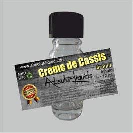 Creme de Cassis Aroma Absolut Liquids