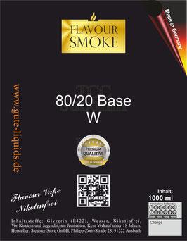 80/20 W Basis 1000 ml Nikotinfrei