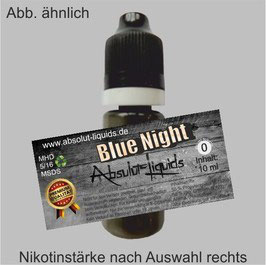Blue Night E-Liquid 10 ml Absolut Liquids