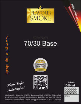 70/30 Liquid Basis 1000 ml Nikotinfrei