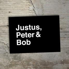 Justus, Peter & Bob