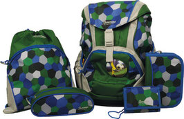 SAMMIES BY SAMSONITE® Schulrucksack-Set Ergofit 7teilig Football 020