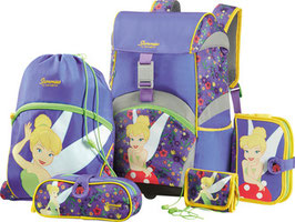 SAMMIES BY SAMSONITE® Schulrucksack-Set Ergonomic 5teilig Tinkerbell's Pixie Home 022