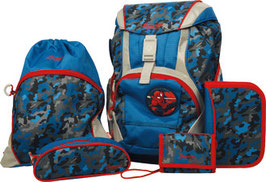 SAMMIES BY SAMSONITE® Schulrucksack-Set Ergofit 7teilig Spider-Man Disney 017