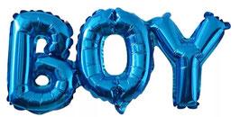 Ballongirlande BOY blau 08