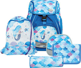FUNKI(TM) Schulrucksack-Set Flexy-Bag 5teilig Mermaid 013