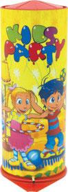 Tischbombe Kids Party gelb klein