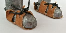 Lederschuhe zum binden 2 Paar