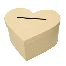 Kartenbox Hochzeit Herz