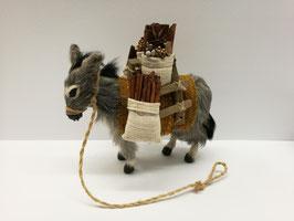 Esel mit Gepäck Nr. 002