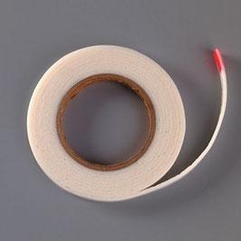 Abstandsklebeband, doppelseitig, 10 x 2 mm x 2 m, weiß