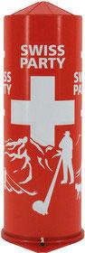 Tischbombe Swiss Party klein