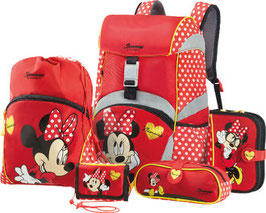 SAMMIES BY SAMSONITE® Schulrucksack-Set Ergonomic 5teilig Minnie rocks the dots 021