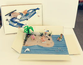 Geldgeschenk Wunderbox Maritim Strand XL 12