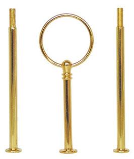 Etagère rund gold / Set 06