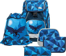 FUNKI(TM) Schulrucksack-Set Flexy-Bag 5teilig Dragon World 008