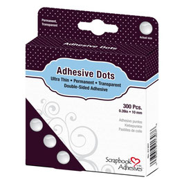 Adhesive Dots, permanent Punkte, 10 mm