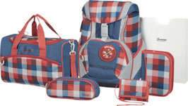 SAMMIES BY SAMSONITE® Schulrucksack-Set Ergofit 2.0 6teilig Classic Checks 002