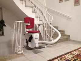 Gebrauchter Kurven-Treppenlift
