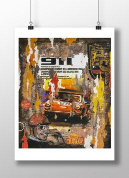 """Tirage d'art """"Porsche 911"""""""
