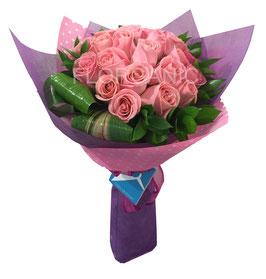 HERMOSAS (18 rosas)