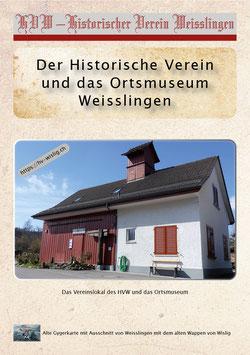 Jubiläumsbroschüre 25 Jahre HVW