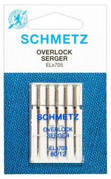 Overlocknadeln 80/12 Schmetz