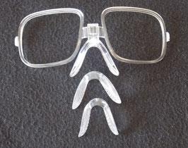 Insert pour verre de vue