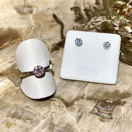 Silber-Set - Ring & Ohrstecker