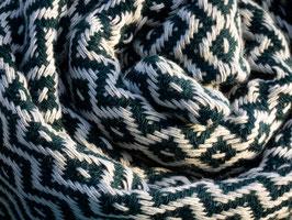 WEB:STOFF Tuch dunkelgrün