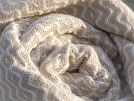 WEB:STOFF Tuch beige